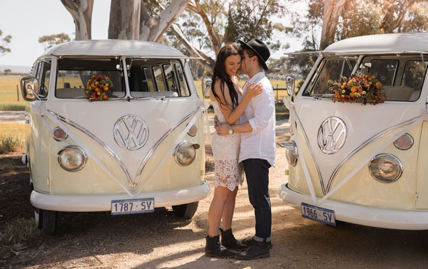 Kombi wedding hire Adelaide